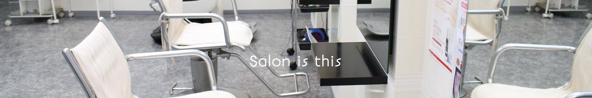 Salon is this